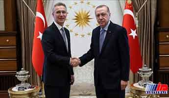 دیدار اردوغان و استولتنبرگ