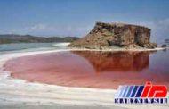 کاهش 8 سانتی متری تراز دریاچه ارومیه