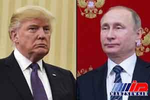 دعوت ترامپ از پوتین برای سفر به آمریکا