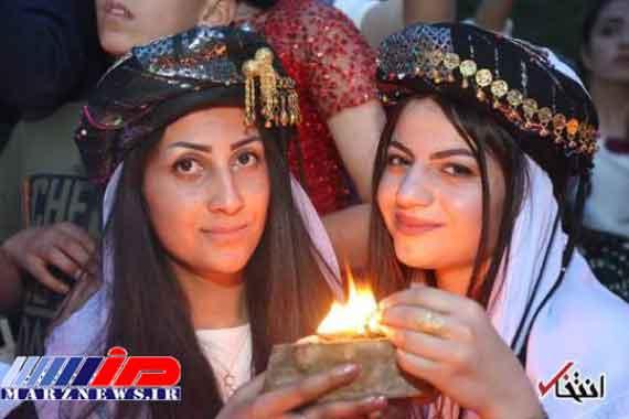 جشن سال نو ایزدیهای عراق + تصاویر