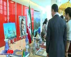 رایزنی فرهنگی در جشنواره فرهنگ و هنر باکو غرفه دایرکرد