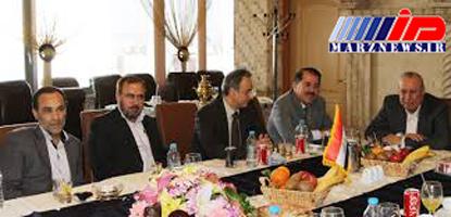 معاون وزیر کشور عراق با استقبال حیدری وارد تهران شد