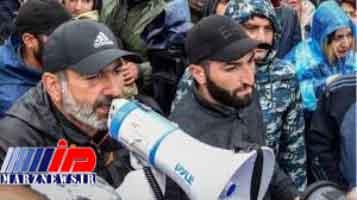 رهبر مخالفان ارمنستان بازداشت شد
