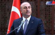 وزیرخارجه ترکیه به آمریکا رفت