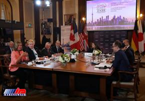 روسیه، ایران وکره شمالی محورهای مذاکرات وزیران خارجه گروه 7 بودند