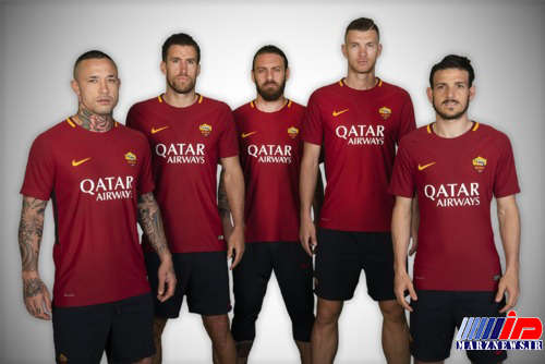 هواپیمایی قطر رسما اسپانسر جدید رم شد(+عکس)