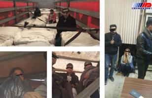 پنج محموله قاچاق انسان در مرز ترکیه توقیف شد
