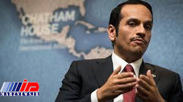 وزیر خارجه قطر خواستار مذاکره مستقیم ایران و آمریکا شد