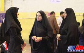 حضور عراقی های خوزستان در انتخابات مجلس عراق (عکس)