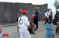 251 سیل زده در سیستان و بلوچستان اسکان داده شدند