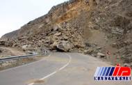 محور خلخال-پونل به دلیل رانش کوه مسدود شد