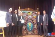 فرش های جام جهانی در تبریز رونمایی شد