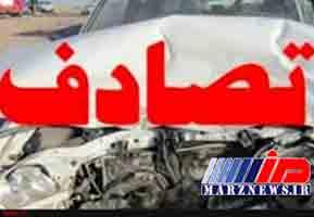 سانحه رانندگی مرگبار در «صحنه» کرمانشاه