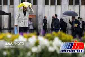 تداوم فعالیت سامانه بارشی در ۲۰ استان