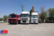 کامیون داران آذربایجان شرقی به اعتراض خود پایان دادند