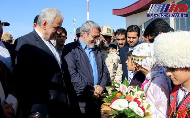 اظهار رضایت وزیر کشور از امنیت مرزهای استان خراسان شمالی