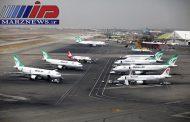 انجام ۳۸ هزار و ۲۲۸ پرواز در فرودگاه های ایران در اردیبهشت ۹۷