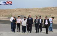بازدید مسئولان سازمان هواپیمایی کشوری از فرودگاه پیام