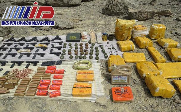 کشف محموله کلان مواد منفجره در مرزهای شرقی کشور