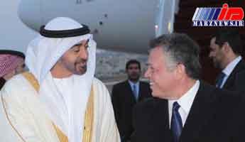 گفتوگوی تلفنی ولیعهد ابوظبی با شاه اردن
