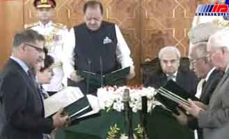 وزیران دولت انتقالی پاکستان معرفی شدند