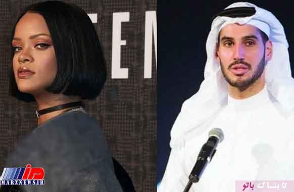 ریهانا قلب میلیاردر سعودی را شکست!