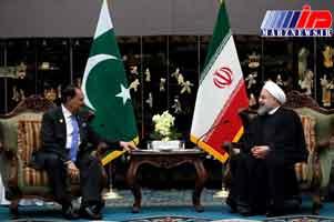 روسای جمهوری ایران و پاکستان دیدار کردند