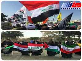 حمل پرچم ایران، سوژه فضای مجازی در عراق شد