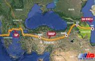 خط لوله گاز تاناپ در ترکیه آماده افتتاح شد
