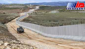 ترکیه ساخت سومین دیوار طولانی دنیا را در مرز با سوریه به پایان رساند