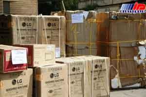 محموله هشت تریلر قاچاق کالا در اندیمشک کشف و ضبط شد