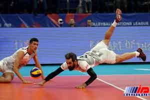 «معروف» نهمین توپ گیر برتر لیگ ملتهای والیبال