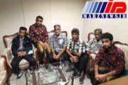 بازگشت ملوانان نجات یافته ایرانی به میهن
