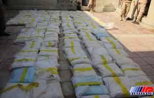 افزون بر یک تن موادمخدر در مرز سراوان کشف شد