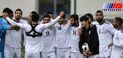 AFC: تیم فوتبال ایران مهیای بهترین نمایش در روسیه است