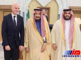 عربستان فوتبال را نیز سیاسی کرد
