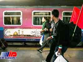 قطار مشهد- شلمچه راه اندازی شد