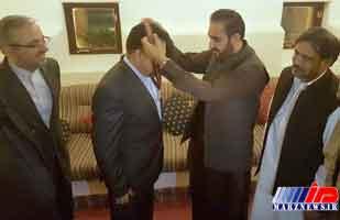 سروزیر ایالت بلوچستان از سرکنسولگری ایران تجلیل کرد
