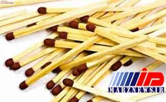 واردات ۱۸ هزار کیلوگرم چوب کبریت به کشور