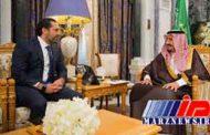 دیدار نخستوزیر لبنان و پادشاه عربستان