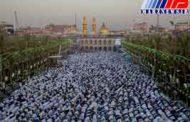 نماز عیدفطر در عتبات عالیات عراق برگزار شد