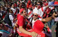 شهرداری سن پترزبورگ تماشاگران ایرانی را ستود