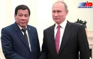 روسیه و فیلیپین موافقتنامه همکاری نظامی امضا کردند