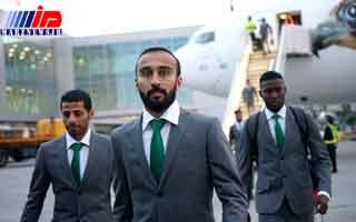 هواپیمای تیم ملی عربستان دچار نقص فنی شد
