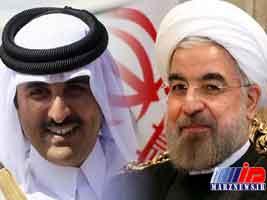 گفت وگوی تلفنی روحانی و تمیم خبر اول رسانه های عرب زبان