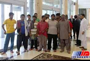 17 ملوان آزاد شده از زندان سومالی فردا وارد چابهار می شوند