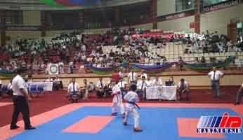 مسابقات بین المللی کاراته در باکو آغاز شد