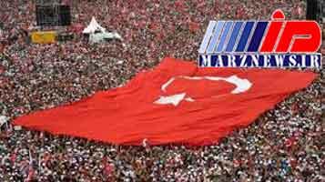 تجمع گسترده مخالفان اردوغان در استانبول