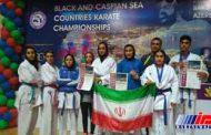 کاراته کاران ایران سه طلا و سه نقره در باکو کسب کردند