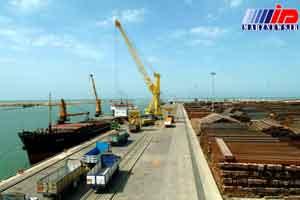 صادرات غیرنفتی از بندر امیرآباد سرعت می گیرد